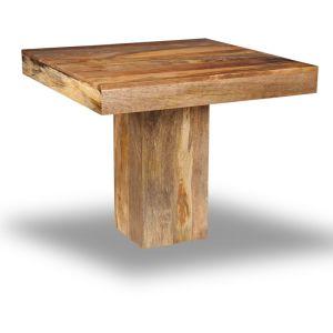 Light Dakota 90cm Cube Dining Table
