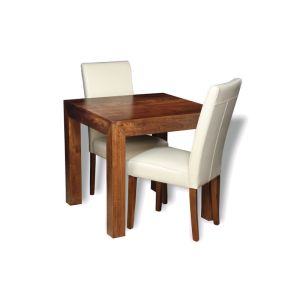 Extra Small Dakota Dining Table & 2 Barcelona Chairs