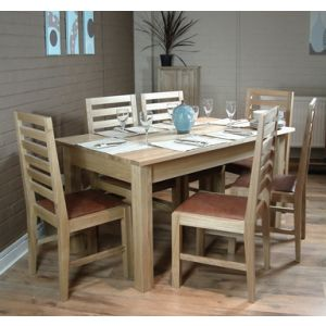 Mobel Oak 150cm Dining Table (Table Only)