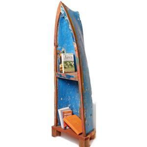 Canoe Boat Bookshelf S07
