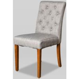 Milan Button Fabric Chair