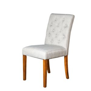 Milan Button Fabric Chair