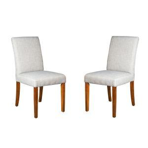 Set of 2 Milan Fabric Chairs