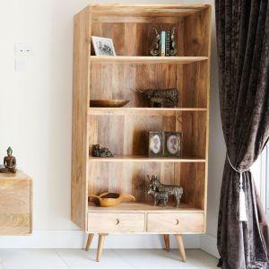 Light Vintage Mango Bookcase