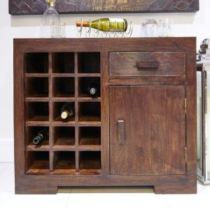 Small Mango Wine Rack