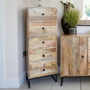 Industrial Tall Chest