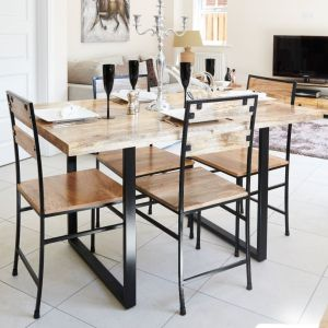 Industrial Dining Set
