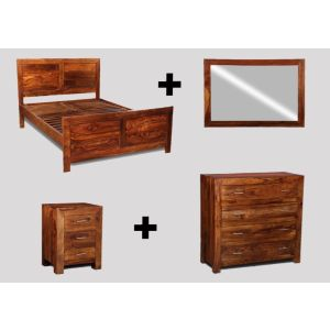 Small Super King Size Cube Bedroom Package