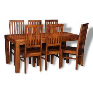Large Cube Dining Set