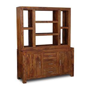 Cube Honey Large Multishelf Dresser Open Back