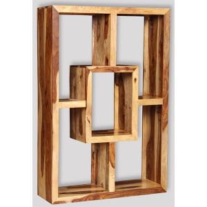 Cube Light Large Square Bookcase