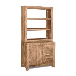 Cube Natural Small Multi-Shelf Dresser