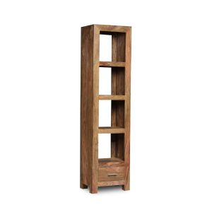 Cube Natural Slim Jim Bookcase