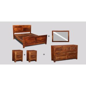 Large King Size Cube Bedroom Package