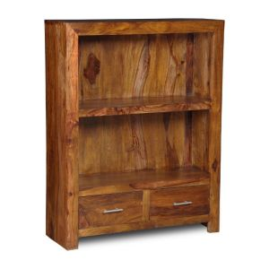 Cube 2 Drawer Bookcase