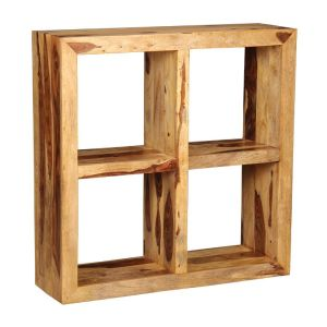 Cube Light 4 Hole Storage Unit