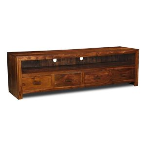 Cuba Large 4 Drawer TV Unit