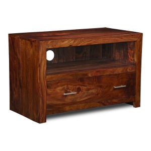 Cube 1 Drawer Media Unit