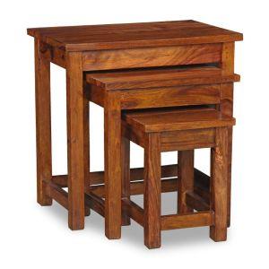 Cube Honey Nest of Tables