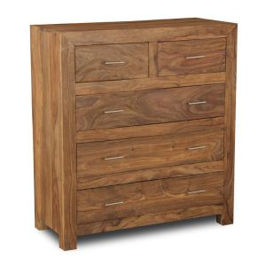 Cube Natural Large Chest of Drawers