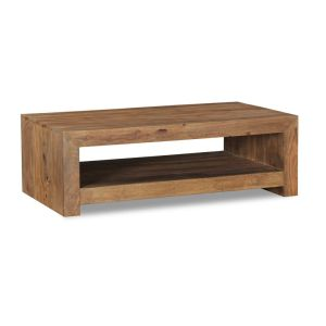 Cube Natural Open Coffee Table