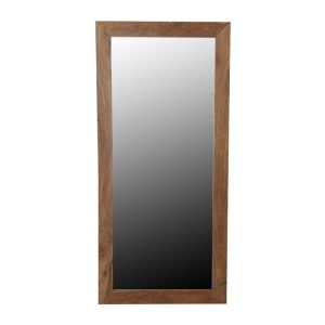 Cube Natural Tall Mirror