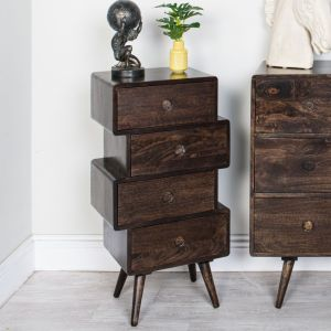 Vintage Mango Chest of Drawers Large