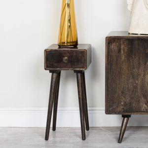 Vintage Mango Lamp Table