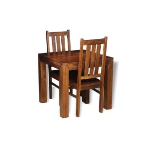 Extra Small Dakota Dining Table & 2 Dakota Dining Chairs