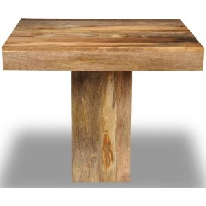 Light Dakota 90cm Cube Dining Table