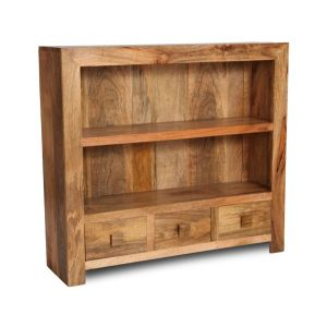 Light Dakota Low Bookcase