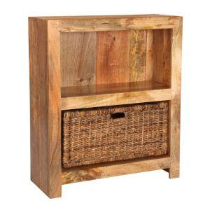 Light Dakota Small Shelves With Havana Basket