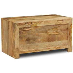 Light Dakota Blanket Box