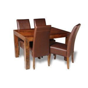 Dakota 120cm Dining Table & 4 Madrid Chairs