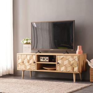 Light Boxwood TV Unit Large