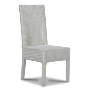 Lloyd Loom White Dynamo Dining Chair