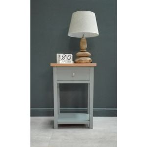 Greyton Painted Oak Side Table