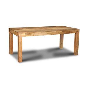 Light Mango Wood 180cm Dining Table