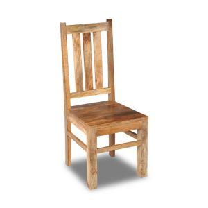 Light Mango Wood Dining Chair