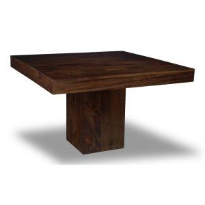 Mango Wood 120cm Cube Dining Table