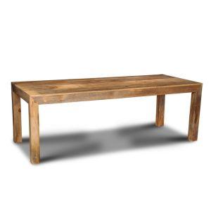 Light Mango Wood 220cm Dining Table