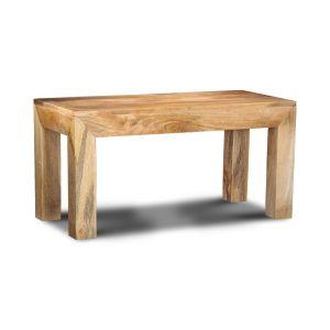 Light Mango Wood Small Bench