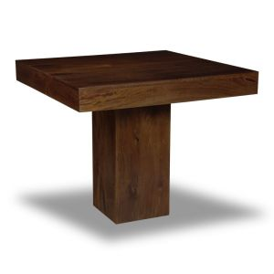 Mango Wood 90cm Cube Dining Table