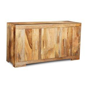 Light Mango Wood Large Sideboard