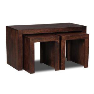 Mango Wood Side Tables