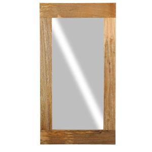 Light Mango Wood Mirror