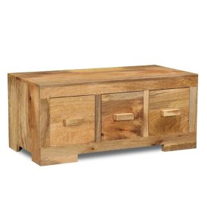 Light Mango Wood Coffee Table