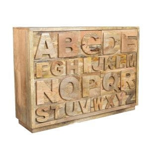 Industrial Alphabet Drawers