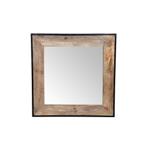 Industrial Square Mirror