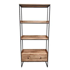 Industrial Square Ladder Shelves